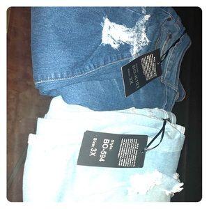 Denim - Skinny Long Plus size jeans